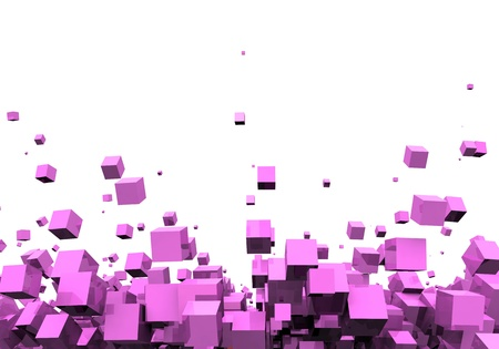 backplate: 3D - Background - Pink Disco particles