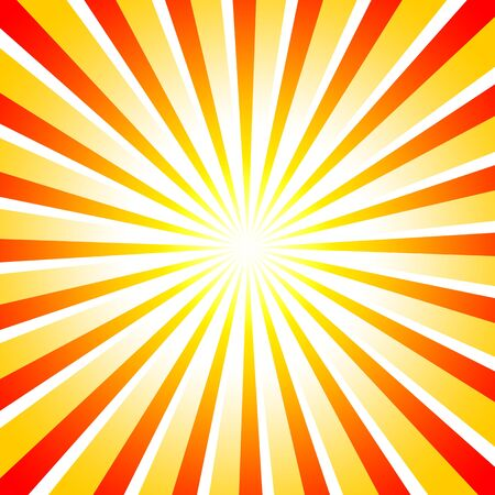 backplate: Abstract red orange sun rays
