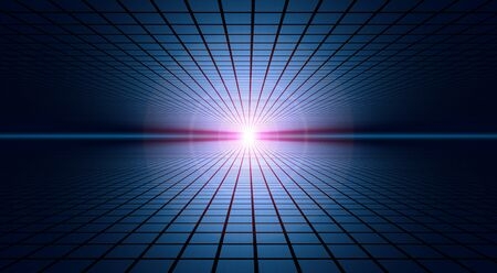 Cyberspace Horizon 01 Stock Photo - 14171808