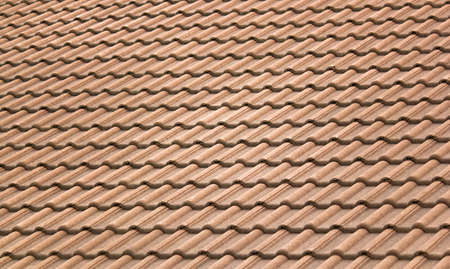 the backplate: Background - old roof tiles Stock Photo