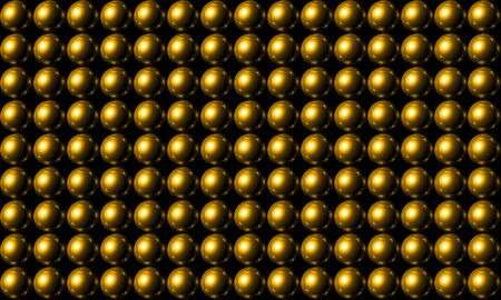 backplate: Gold ball grid array background