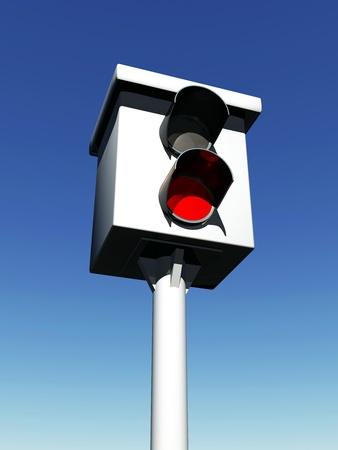speeder: 3D - Radar Control - Blitzer - Sky Blue 02