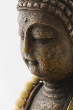 sandalwood: Buddha Mala necklace of sandalwood