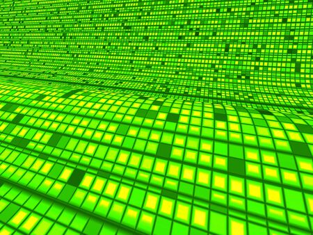 Matrix Green Wave Background photo