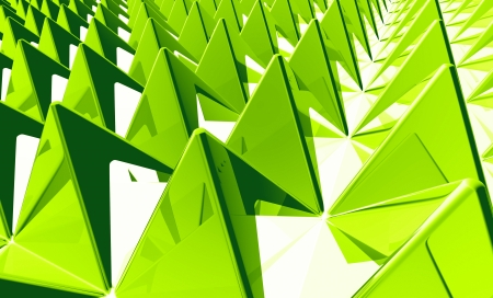 Background - Matrix Green 2 pyramids photo