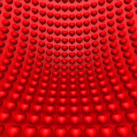 eroticism: Red Hearts Background
