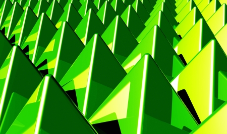 Background - Matrix Green 1 pyramids photo