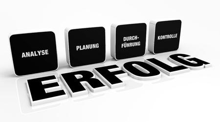 existential: Text concept - 3D Black 4 success