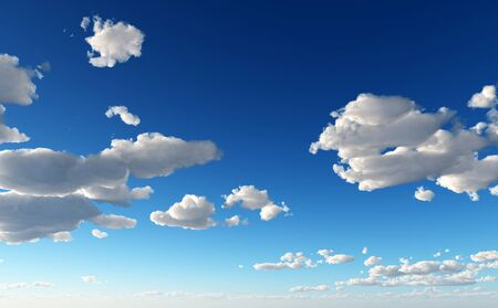 karma design: Picturesque Clouds - Background