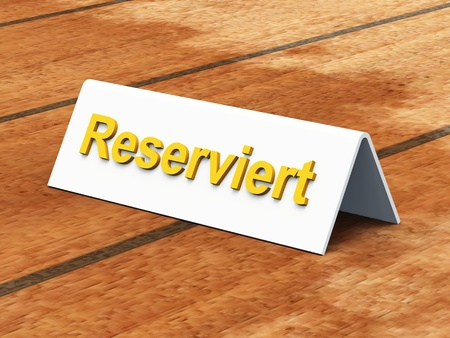 Is reserved