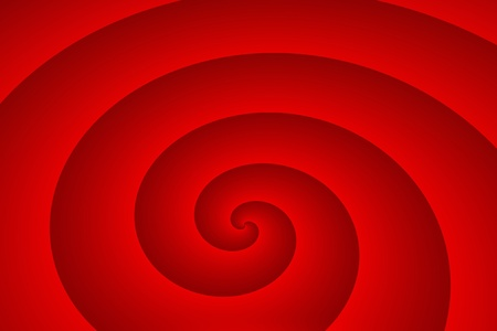 the backplate: Background - The red spiral Stock Photo
