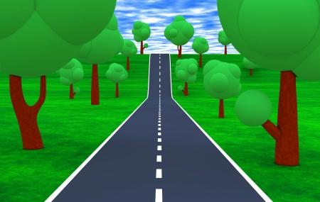 The road to the Horizon photo