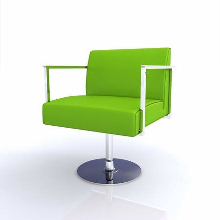 designer chair: Modern designer chair  Stock Photo