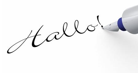 cordially: Pen Concept - Hello