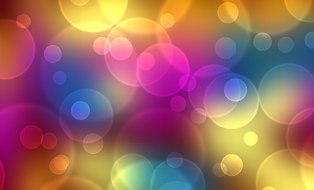 curren: Air bubbles background - colorful 6
