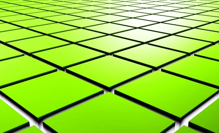 squares: 3D structure  Stock Photo