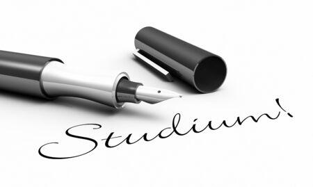 Studies - pen concept Stock Photo - 14380973