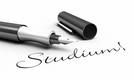 Studies - pen concept Stock Photo - 14380973