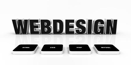 customercare: Web design portfolio concept Black