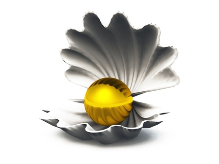 Finding Seashells Stock Photo - 14401372