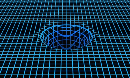 backplate: Space-time curvature 03