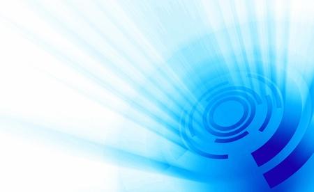 backplate: Modern cyberspace white blue banner