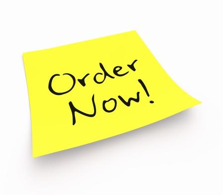orden de compra: Notas Adhesivas - Haga su pedido ahora
