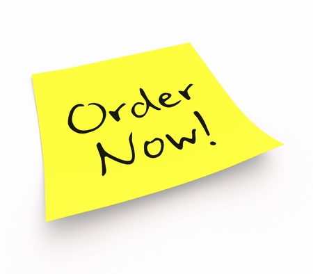 purchase order: Stickies - Order Now
