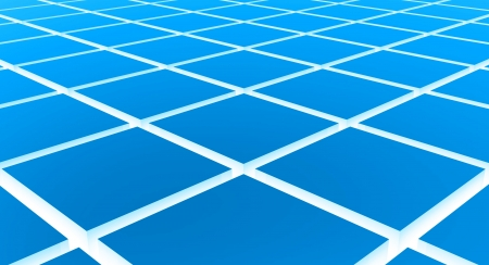 Cube diagonal matrix white blue photo