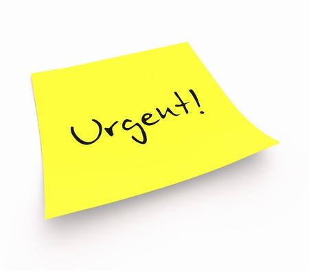 customercare: Stickies - Urgent