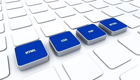 customercare: 3D Blue Pads - HTML CSS PHP MYSQL