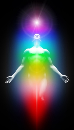 human energy: Transformation into the light