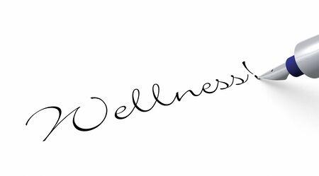 Pen Concept - Wellness Stock Photo - 14452979