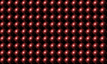 Red ball grid array background photo