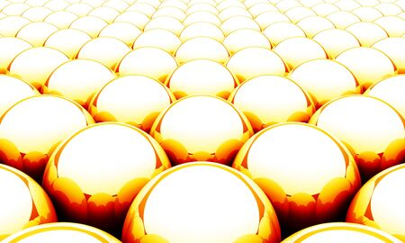 Ball matrix background - Orange Red White  Stock Photo - 14453024