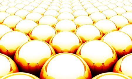 Ball matrix background - Orange Red White Stock Photo - 14453024