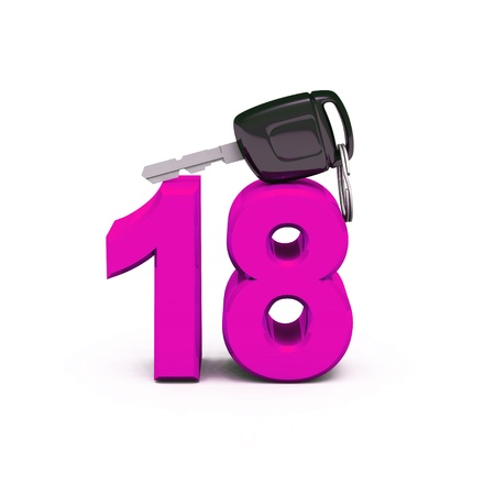 Finally the driver s license - Pink 18 Imagens