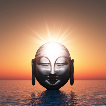 Buddha - Spiritual Awakening Water Stock Photo - 14453214