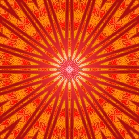Ring of Fire Mandala Stock Photo - 14453231