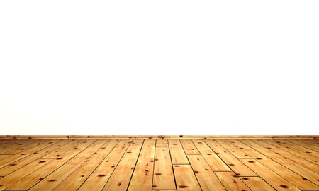 wooden floors: White walls with wood floor - stone pine
