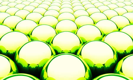 3 d illustrations: Balls Magic Matrix Background - Green