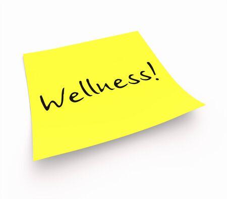 stickies: Stickies - Wellness Stock Photo