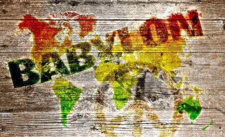 reggae: Inscription Bois - Combattre le monde de paix babylon système