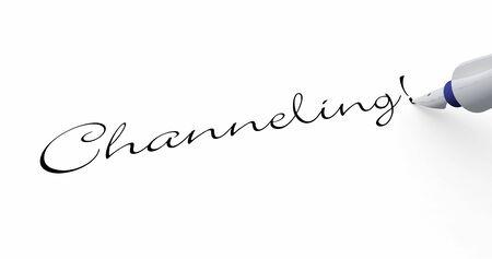 Channeling - pen concept