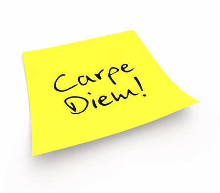carpe diem: Stickies - Carpe Diem