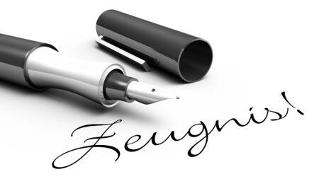 testimony: Witness - Pen Concept