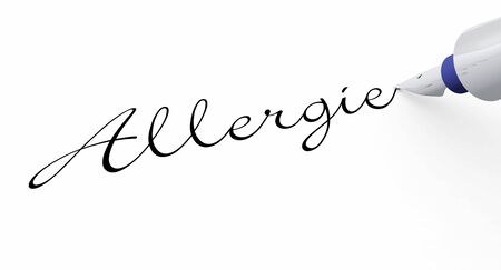 Pen Concept - Allergy photo