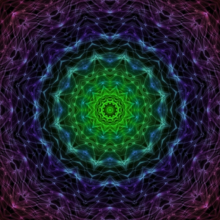 kaleidoscope: Space Mandala 01