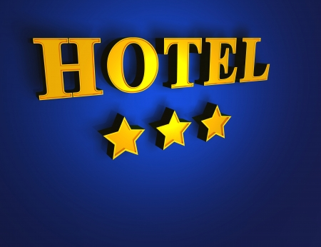 luxury hotel room: Gold Blue Hotel - 3 stars