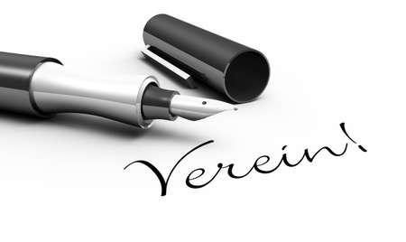 association - pen concept photo